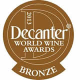 Bronze medal, Decanter WWA 2013