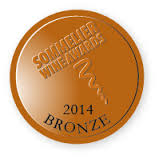 Bronze medal, sommelier wine awards 2014