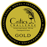 Critics Gold, Critics Challenge International Wine Competition 2011