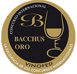 Gold bacchus, X International Wine Contest