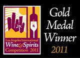 Gold medal, Los Angeles Intl. Wine & Spirits Awards 2011