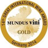 Gold medal, MundusVini 2014