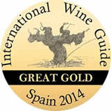 Great gold, international wine guide 2014