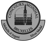 Silver medal, Concours Mondial de Bruxelles 2011