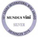 Silver medal, Mundus Vini 2015