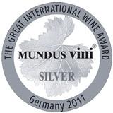 Silver medal, MundusVini 2011