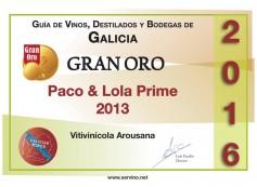 Paco & Lola Prime 2013 gran oro
