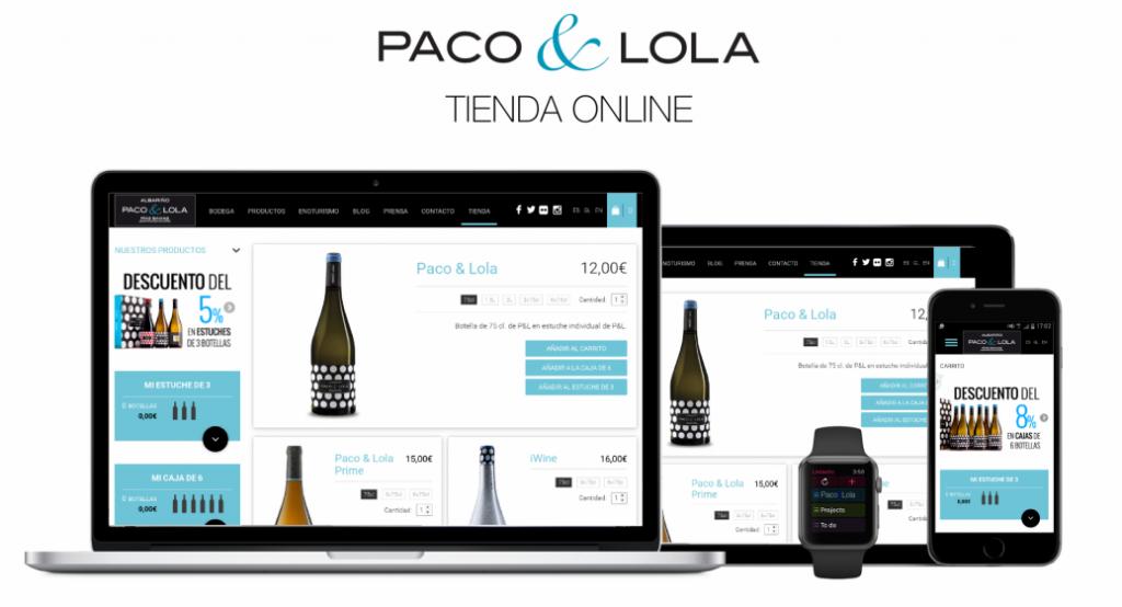Tienda online Paco & Lola