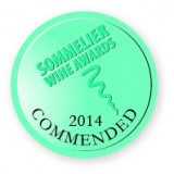 Commended, Sommelier Wine Awards 2014