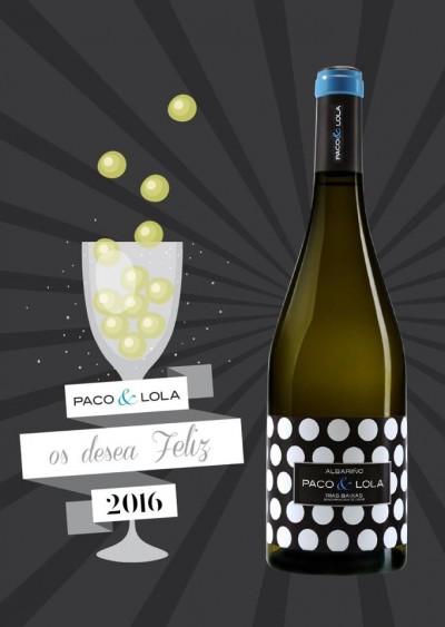 Feliz año 2016 Paco & Lola