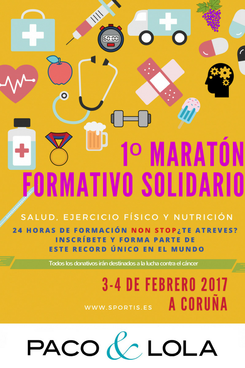 Maratón Formativo Solidario - Diseño Facebook