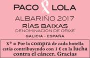Donación Albariño P&L EDICIÓN ESPECIAL LCC LUCHA CONTRA EL CANCER