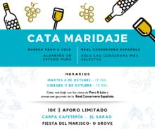CATA MARIDAJE FESTA DO MARISCO